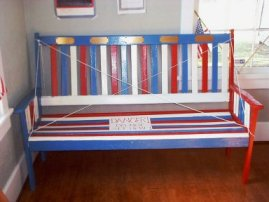 The Old Soldiers Bench.  Click for more details.